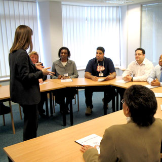 customer-service-training | Customer engagement strategy being discussed